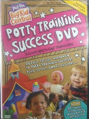 Huggies Pull-Ups Potty Training Success DVD New