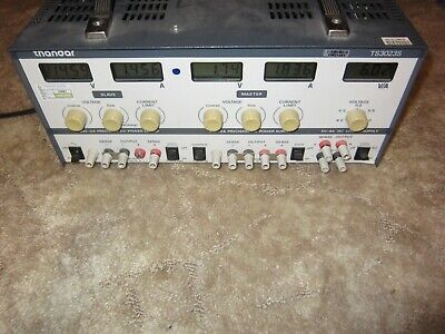 Thandar TTI TS3023S linear bench power supply PSU 0-30V 0-2A triple output