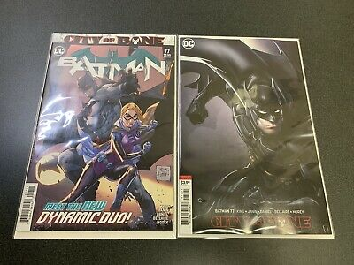 DC Comics Batman: City Of Bane #77 A & B Covers 2019 Death Of Alfred NM