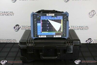 Olympus Omniscan MX2 with 16:128 Module Phased Array Flaw Detector - NDT PA UT