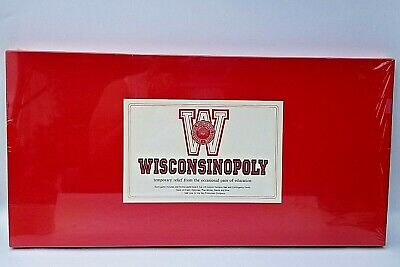 Vintage 1986 Wisconsin MONOPOLY Game Sky Productions Wisconsinopoly