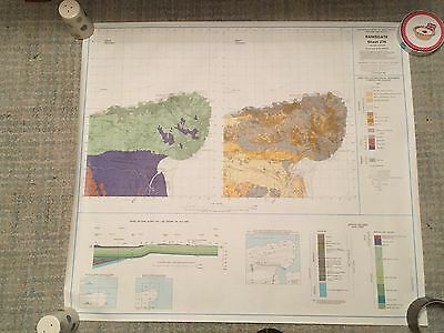 RAMSGATE Geological Survey Map 1:50000 solid & drift sheet 274
