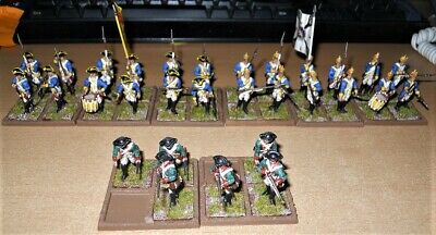 30 x 28mm scale Warlord Games Plastic AWI Hessian infantry nicely painted