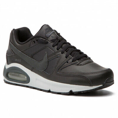 SCARPA NIKE AIR MAX COMMAND LEATHER 749760 001 BLACK NERO PELLE UOMO DONNA