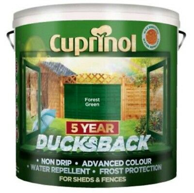 Cuprinol Ducksback Weatherproofer Shed And Fence Wood Paint 9 Litres