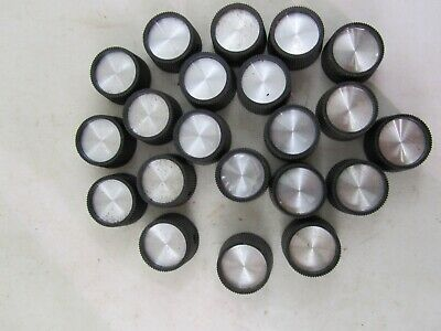 21 Vintage Control Knobs For TV, Music Equipment And Electronics
