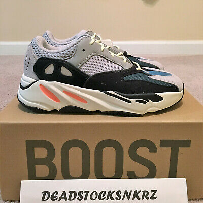 info for 369bb fd938 ADIDAS YEEZY BOOST 700 V1 Wave Runner Kids FU9005 100% Authentic Sizes 2-13K