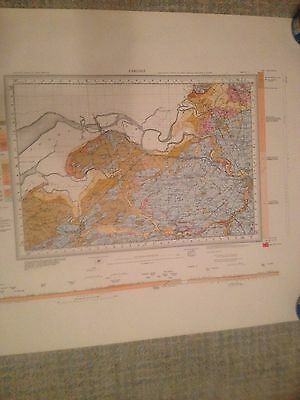 CARLISLE Geological Survey of Great Britain Map drift sheet 17
