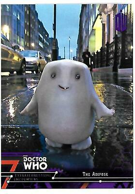 Doctor Who Extraterrestrial Encounters Purple Parallel Chase Card 36 The Adipose