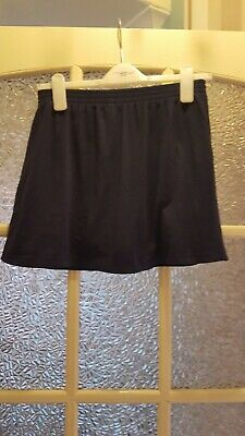 Ladies Navy Blue Sports Skort Size Waist 34-40 approx