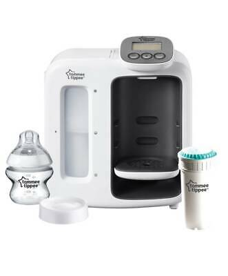Tommee Tippee Closer to Nature Perfect Prep Machine Day & Night-White Brand New