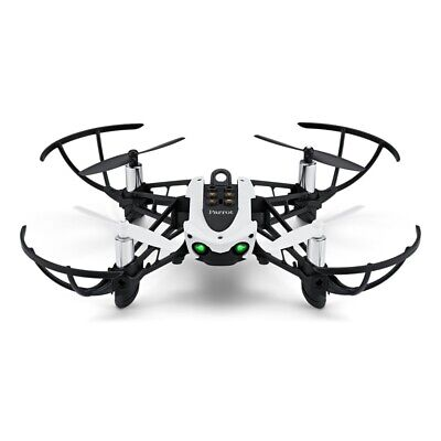 Parrot Mambo Fly Mini Drone - Code Pilot and Play-Black & White-Mint