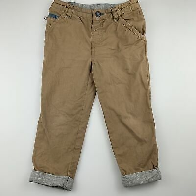 Boys size 3, Jeanswest, tan cotton casual pants, adjustable, FUC