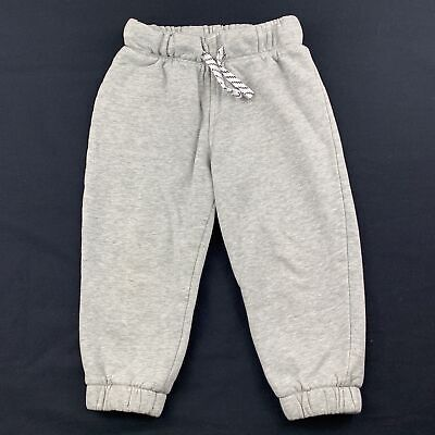 Boys size 2, Target, grey track / sweat pants, elasticated, GUC