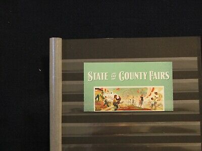 2019 - State & County Fair Header Block Of 4 Stamps -  Mnh