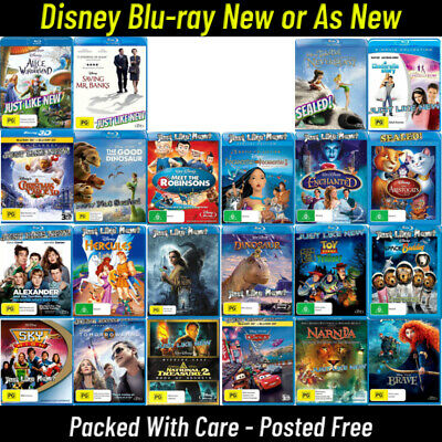 Your Choice- 🔹 NEW OR AS NEW - DISNEY Blu-Ray Titles 🔹 Updated 22/08/19