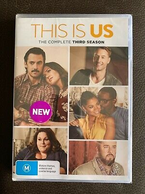 THIS IS US - SEASON 3 DVD ***BRAND NEW and SEALED***