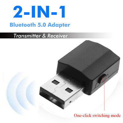 Audio Receiver 2 in 1 Bluetooth 5.0 Adapter USB Transmitter Digital Devices