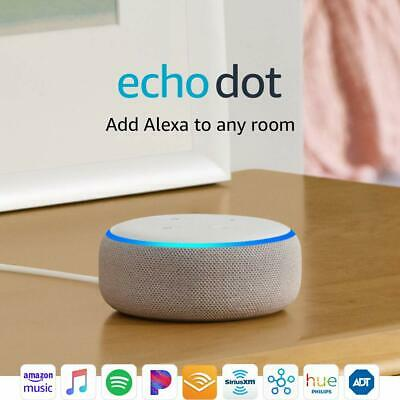NEW Amazon Echo Dot Latest 3rd Gen Smart Speaker with Alexa Sandstone