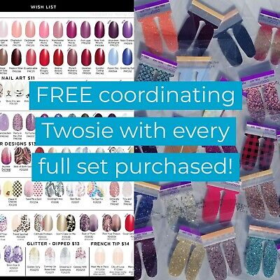 SHIPS TODAY with FREE TWOSIE! HOLIDAY SPECIAL Color Street Dry Polish