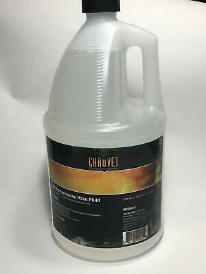 Chauvet High Performance Water Based Haze Fluid 1 Gallon New Sealed