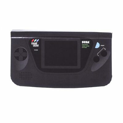 SEGA Game Gear Official Handheld Console Black Lined Notebook