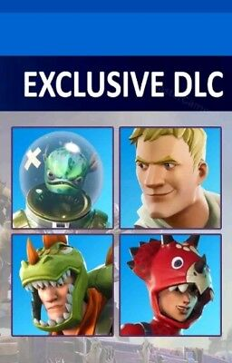 Fortnite Avatar Bundle (From SONY E3 Experience)