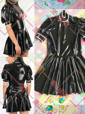 923 Latex Rubber Gummi Dresses One-piece full-skirted catsuit customized 0.4mm