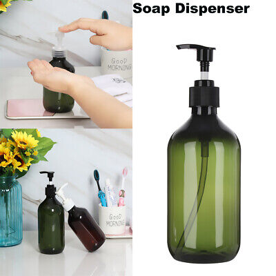 300/500ML Hand Pump Plastic Soap Foam Dispenser Long Neck With Screw Containers