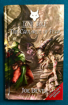 Lone Wolf Book 9 The Cauldron of Fear Collector's Edition Signed by Joe Dever