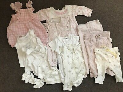 Purebaby Clothing Bulk Bundle Baby Girl 0000, 000, 00 RRP $300+