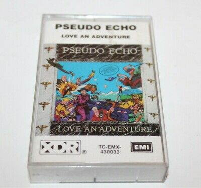 Pseudo Echo Love An Adventure Cassette Tape Album EMI 1982 TC-EMX-430033