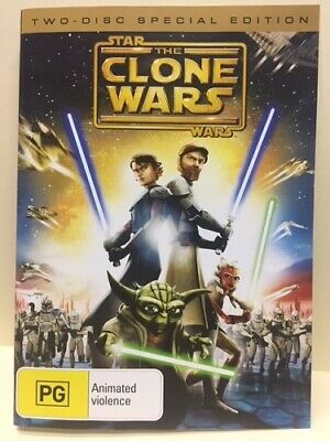 Star Wars: The Clone Wars: Special Edition – 2 Dvd Set, Full Length Feature Film