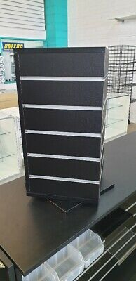 CHEAP counter top spinning slatwall unit retail shop grocery convenience store