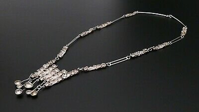 JUHLS Kautokeino Silber silver necklace Collier MODERNIST scandinavian Design