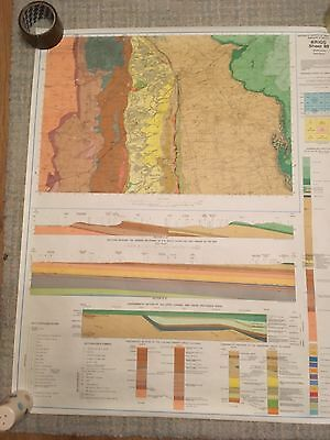 BRIGG Geological Survey Map 1:50000 solid geology sheet 89