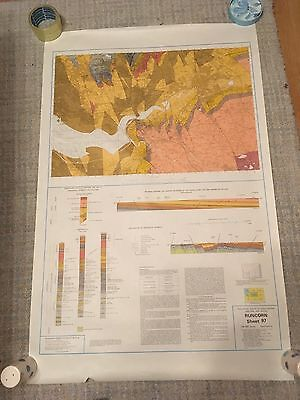 RUNCORN Geological Survey Map 1:50000  SOLID sheet 97