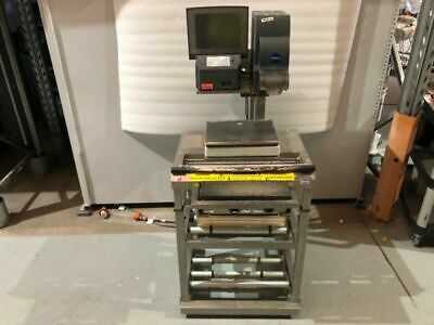Wedderburn DPS-4600M Prepack Scale Wrapping Labelling Station #1