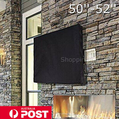 50-52 Inch Waterproof TV Cover Outdoor Patio Flat Television Dustproof Protector