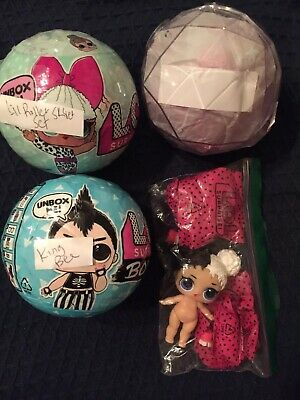 New LOL Surprise BOYS King Bee RARE Only Opened Shoes