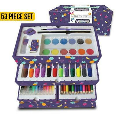 Art Set 53 Pieces -Art supplies to keep your tiny artist happily engage Children