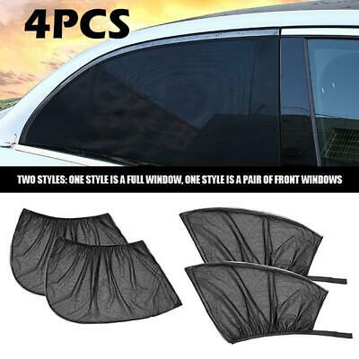 4x Car Rear Side Window Sun Shade Blind Mesh Cover Screen Kid Child Protect
