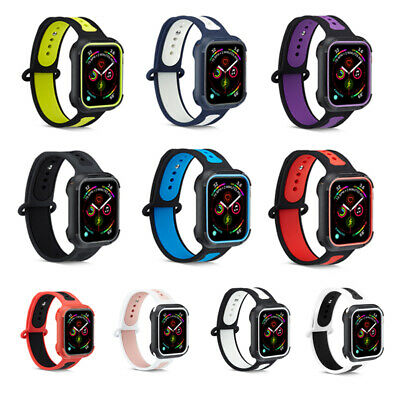 38/40/42/44mm Silicone Bracelet Band Strap For Apple iWatch Sports Series 1 2 3