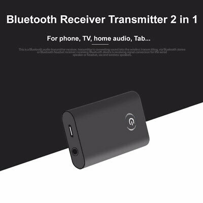 Wireless Bluetooth 4.1 Music Adapter Receiver & Transmitter 3.5mm Audio Cable