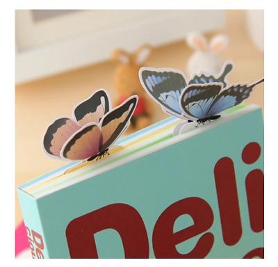 1 x Butterfly Shape Bookmark Exquisite Wings Open Gift Book Marks UK Stock
