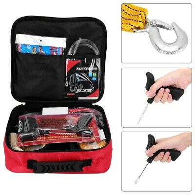 T880 Roadside Assistance Car Security Emergency First Aid Repair Tool Kit