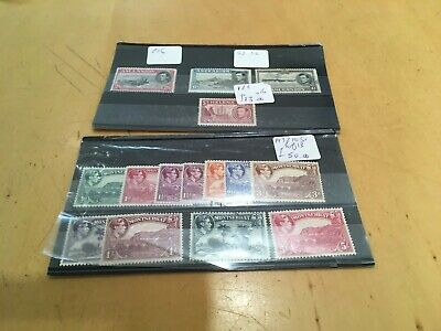 George VI British Commonwealth Collection Stockcards Not Included our Ref 40100