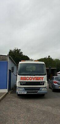 Daf Flat Bed Recovery Truck No Vat