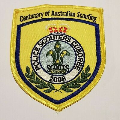 Police Scouters Cuboree 2008 Patch Badge Centenary of Australian Scouting