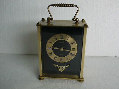 Vintage Brass Quartz Carriage Clock by Acctim - Made in Germany - Perfect Time